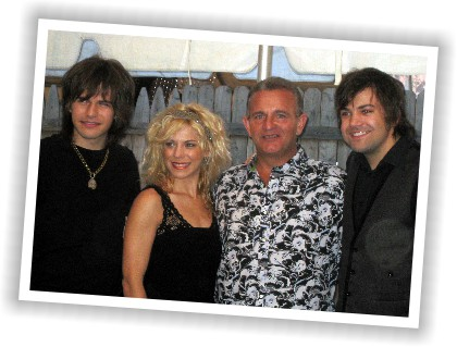 Bobby with The Band Perry