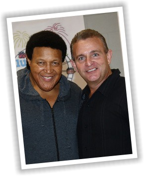 Bobby with Chubby Checker